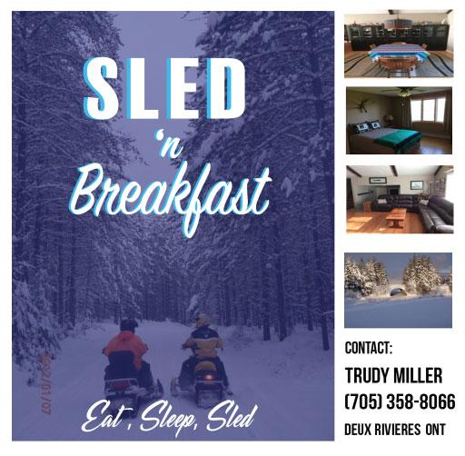 """Sled """"n"""" Breakfast"""